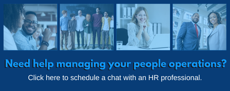 schedule a chat with HR expert